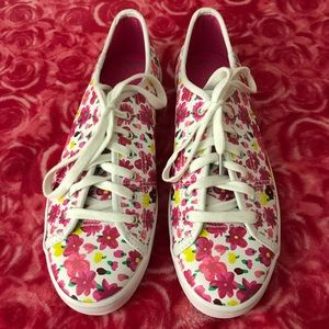 Keds  for Kate Spade  floral sneakers size 8